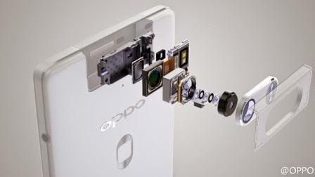 Oppo rilis gambar detail modul kamera Oppo N3
