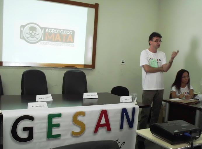 Prof. Alcemi Barros: SISAN