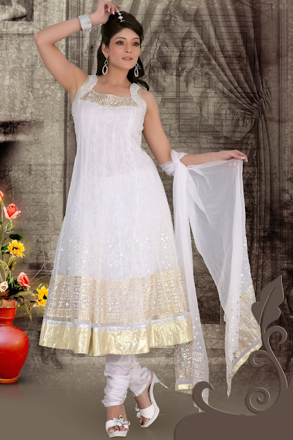 Emboidered-Anarkali-Churidar-Kameez