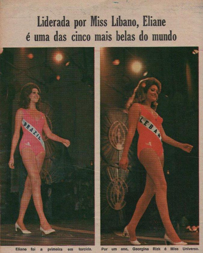 sess o nostalgia eliane guimar es miss brasil 1971. Black Bedroom Furniture Sets. Home Design Ideas