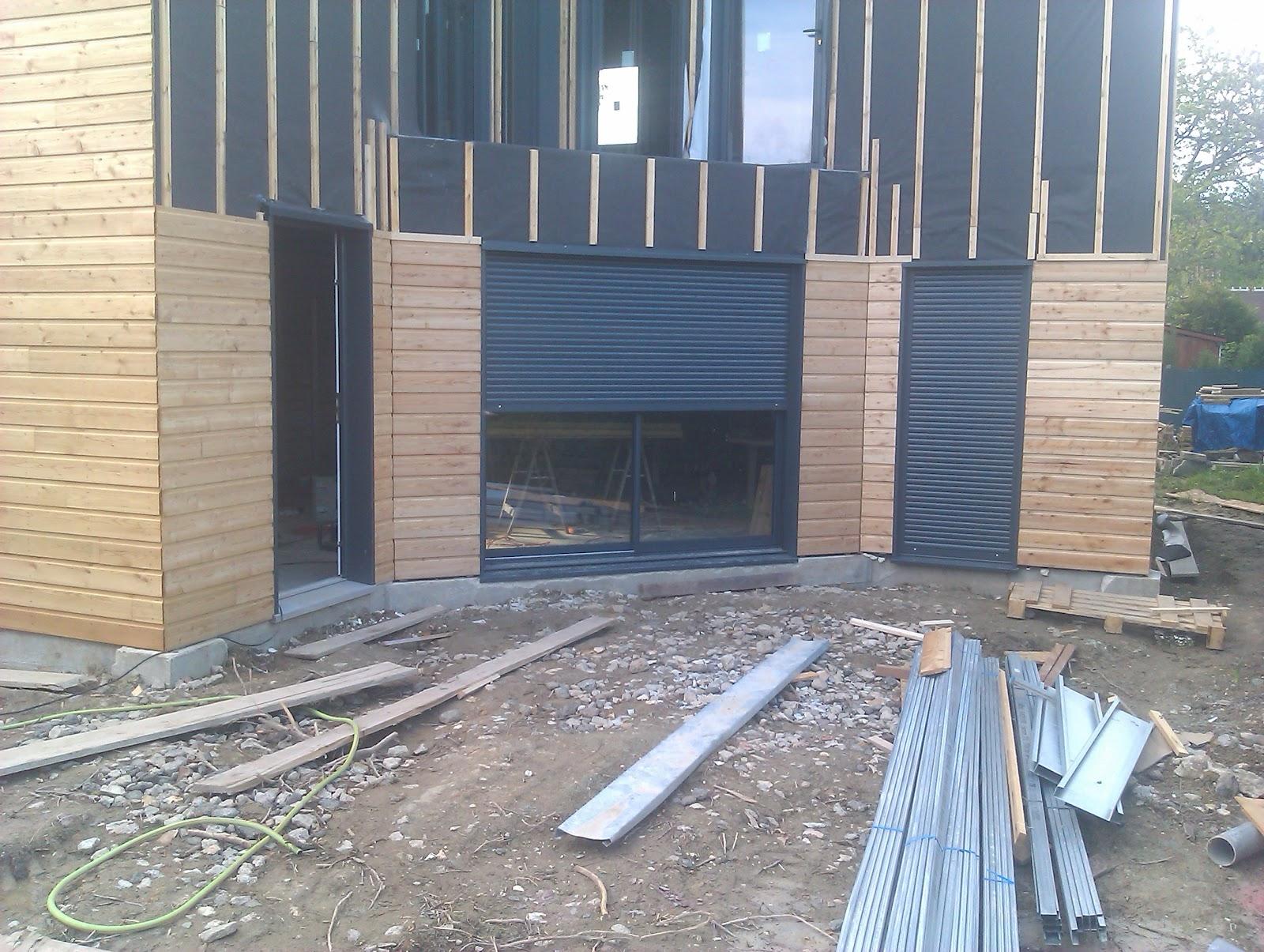 Construction maison ossature m tallique bardage ext rieur - Bardage metallique maison ...