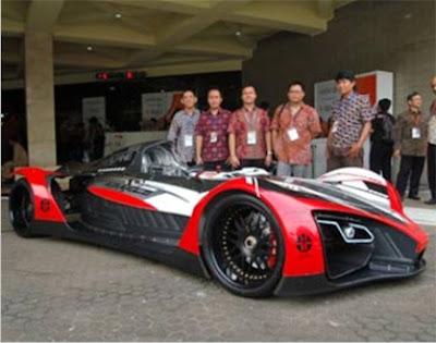 Mobil Sport Listrik Buatan Indonesia   ANAK NEGERI 45