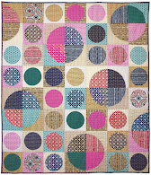 Free pattern : Circles quilt (click for PDF!)