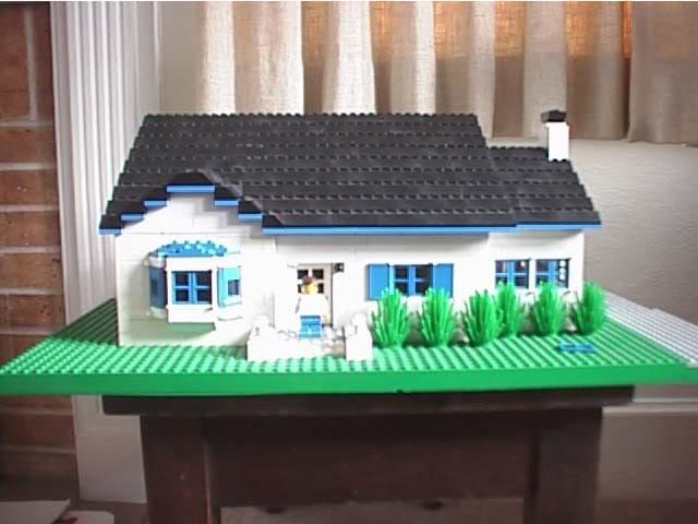 LEGO House Model