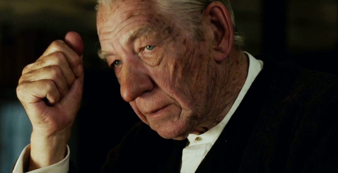 Ian McKellen é um aposentado Sherlock nos teaser trailers de Mr. Holmes