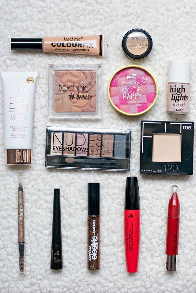 Technic cosmetics festive christmas makeup look tutorial