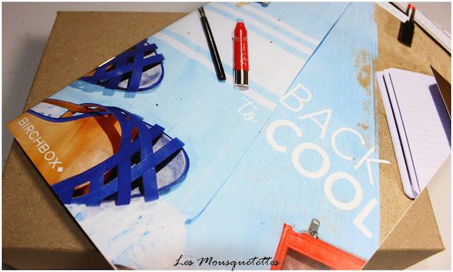Birchbox août 2015 Back to Cool - Les Mousquetettes©