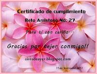 Certificado de Cumplimiento 27