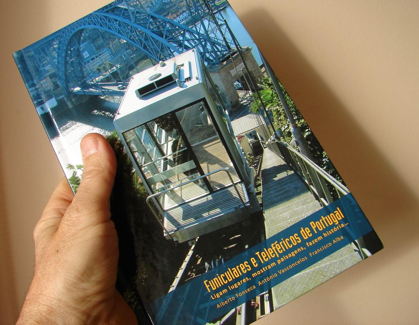 Livro Funiculares e Teleféricos de Portugal