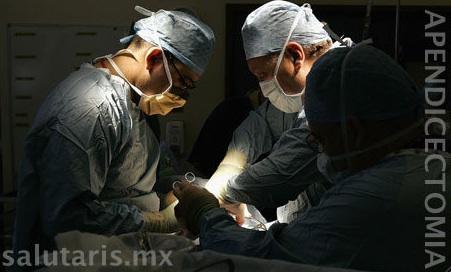apendicectomia abierta en Salutaris Guadalajara Mexico