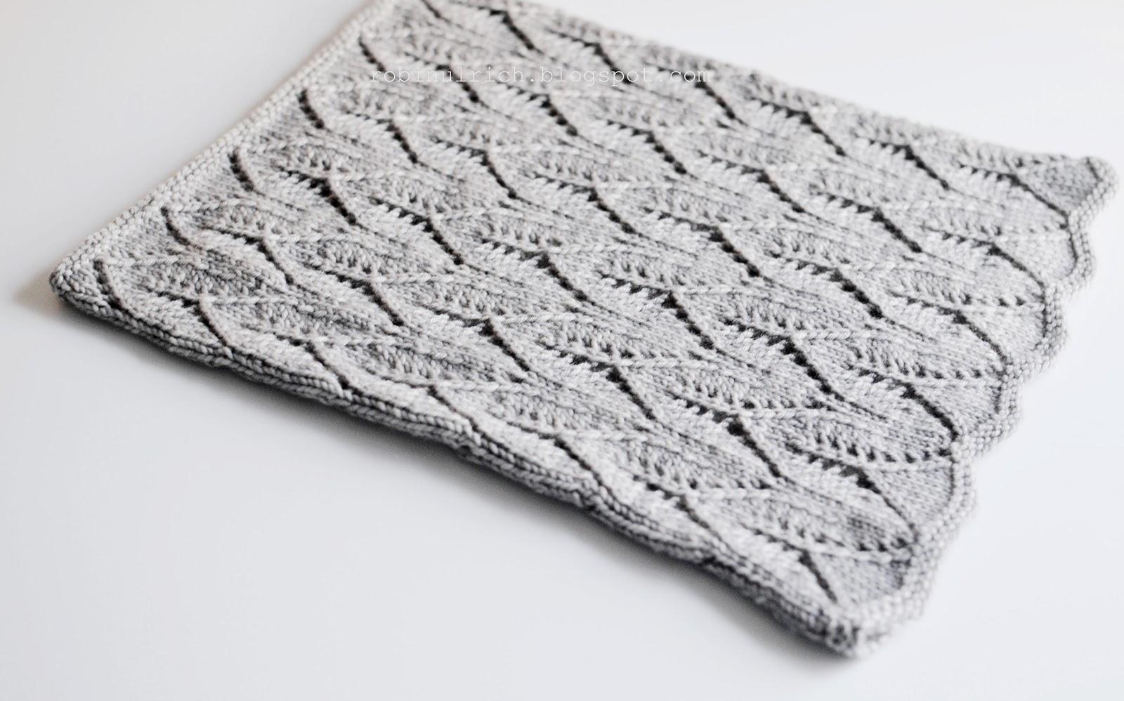 Robin Ulrich Studio: New Knitting Pattern - Greyhaven