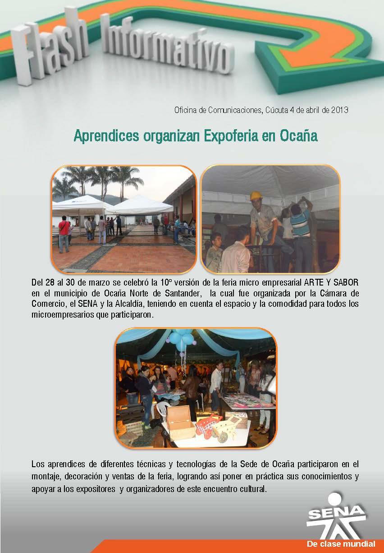 Regional norte de santander aprendices organizan for Oficina de correos santander