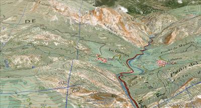 Capas 1_25000 IGN para Google Earth