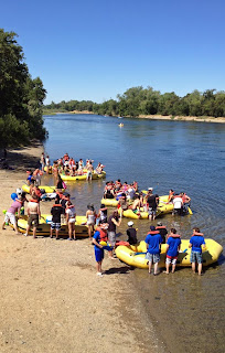 Rafters Gone Wild on the American River
