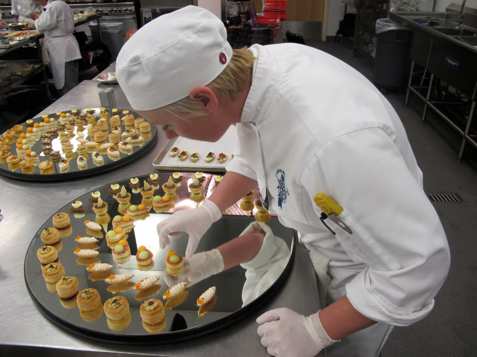 Ham eggs a day 39 s work for a chicken a lifetime for Canape garnishes