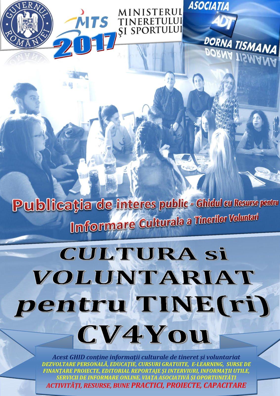 Cultura si Voluntariat pentru Tine(ri)