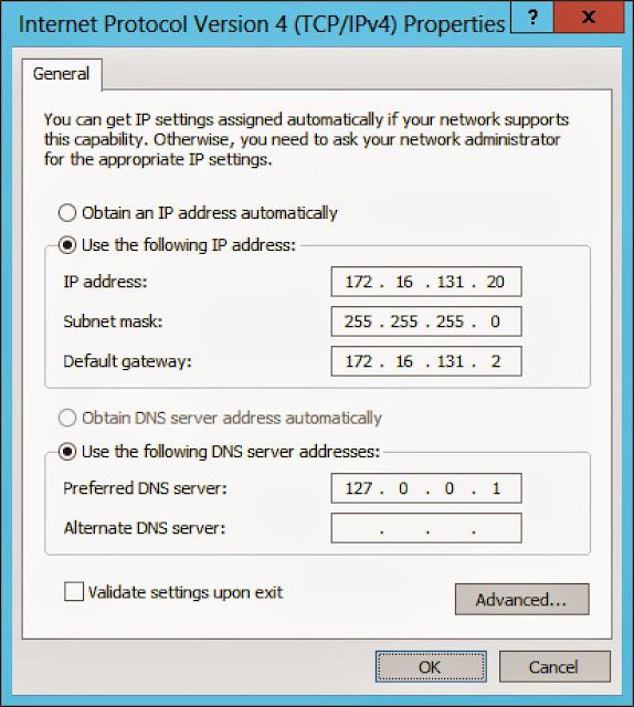 configure adapter