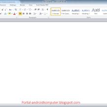 Cara Menampilkan Garis Pembatas di Ms. Word 2010 (Boundaries)