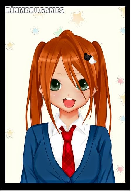 Dress Up Luna Anime Happy Birthday Card Maker