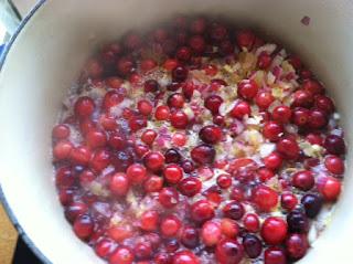 Canning Cranberry Chutney