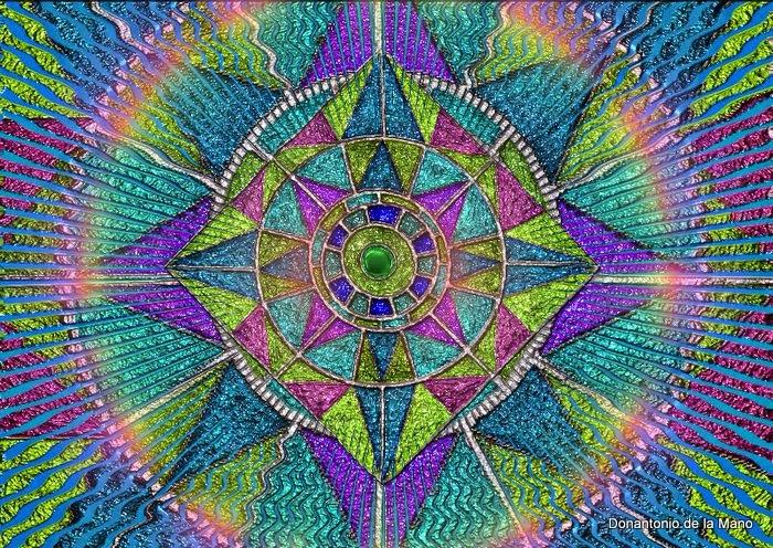 Mandala Virgem