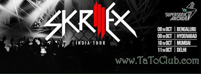 skrillex india tour