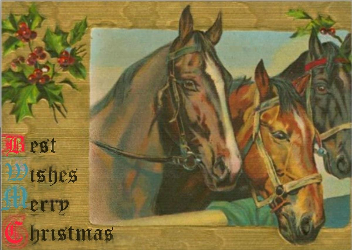Artist Carol Labashosky: Vintage handmade fine art Christmas cards ...