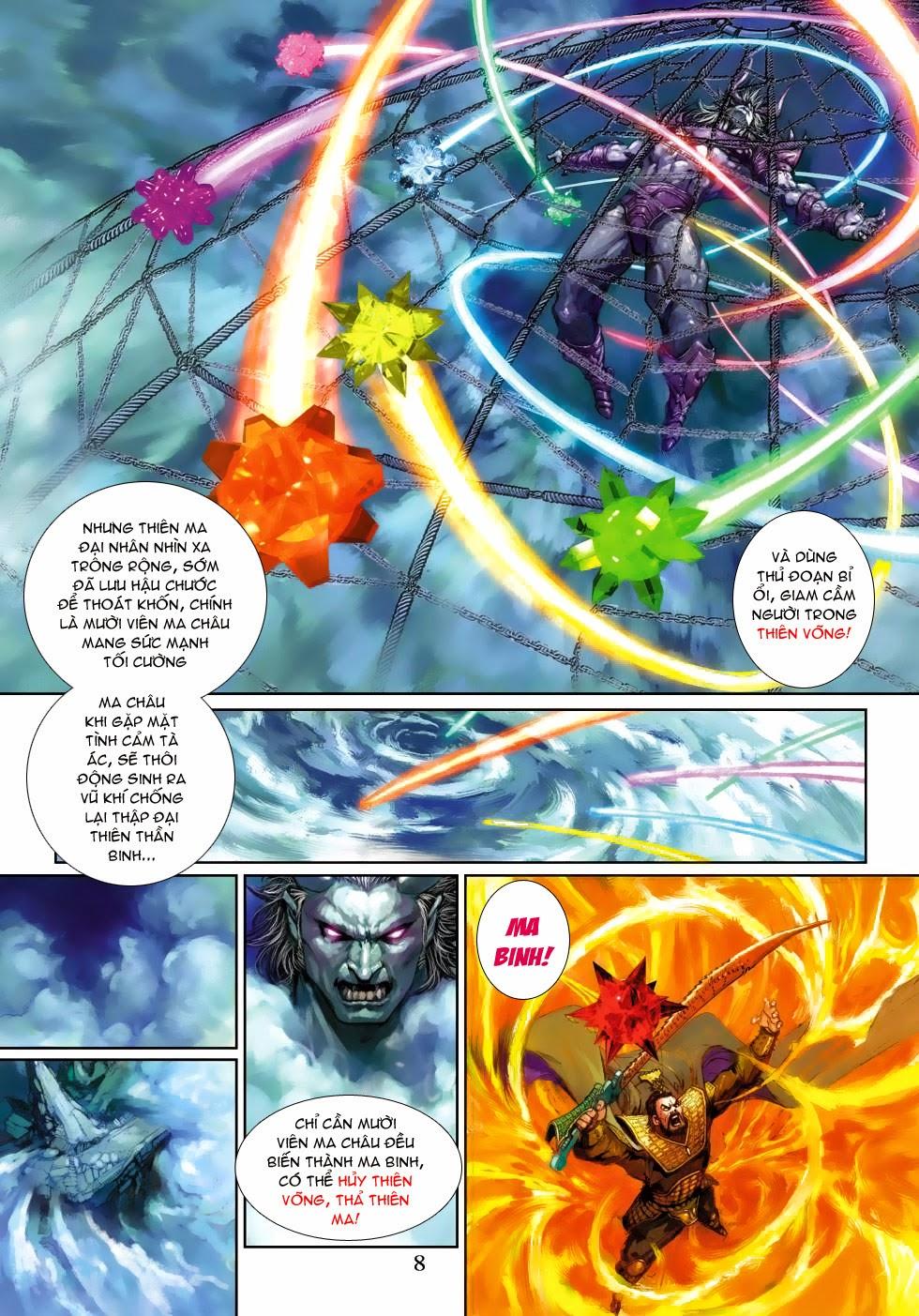 Thần Binh Tiền Truyện 4 - Huyền Thiên Tà Đế chap 3 - Trang 8
