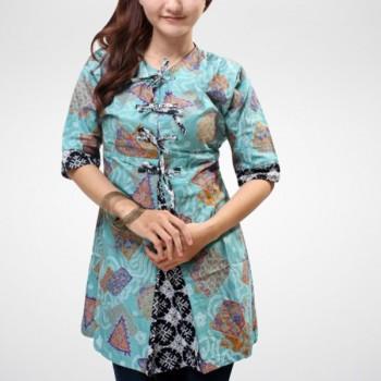 Pakaian Baju Model Pakaian Kemeja Batik Wanita Terbaru