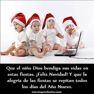 Imagenes chidas con Mensajes navideños de feliz navidad