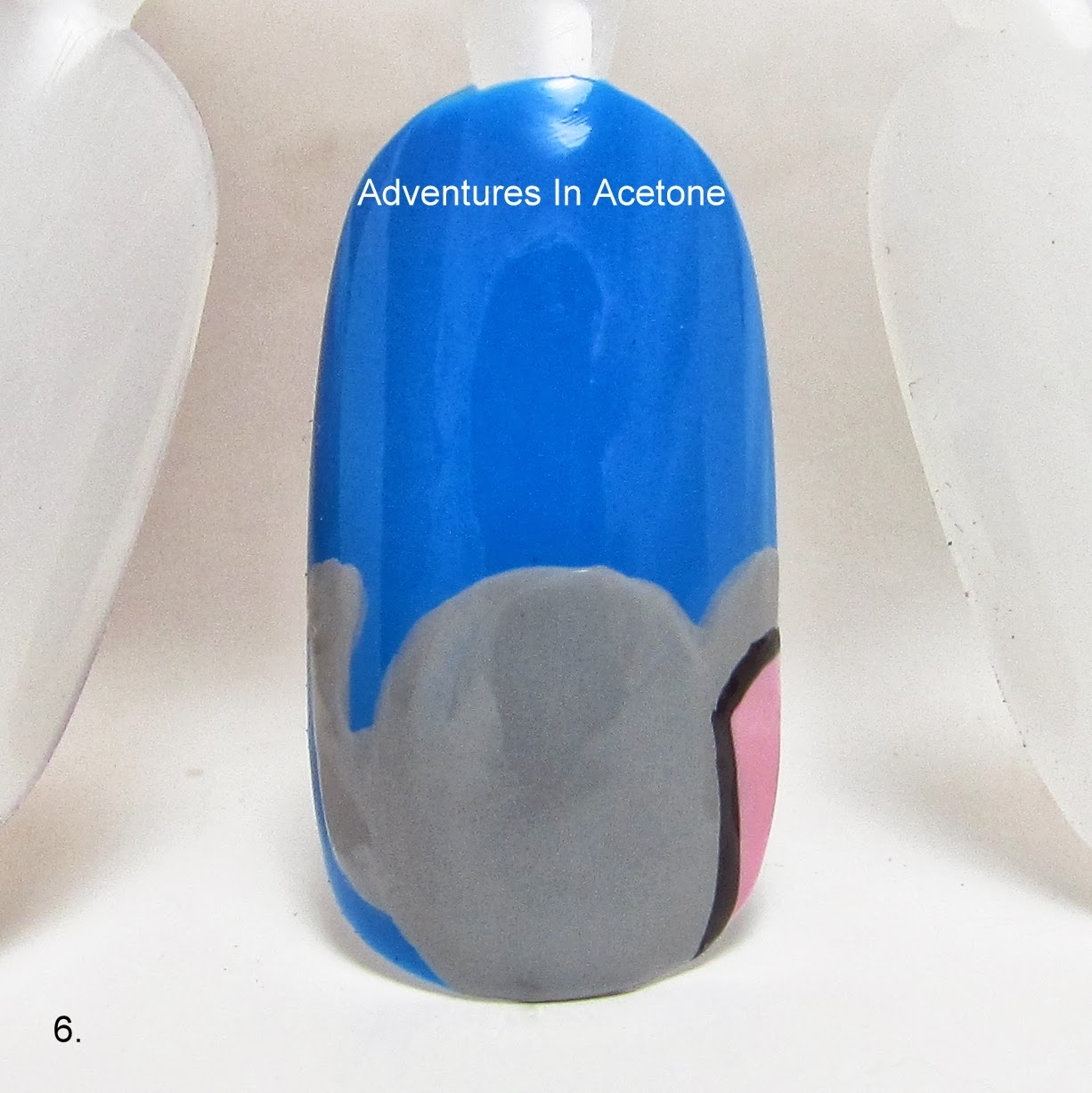 Tutorial Tuesday Elephant Nail Art Adventures In Acetone