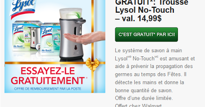 Lysol no touch coupon 2018