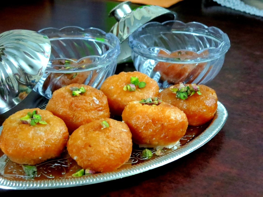 balushahi ~ north indian special   how to make balushahi   indian cooking challenge - august