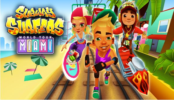 New Subway Surfers Miami Mod APK v1.11.0 - Unlimited Coins