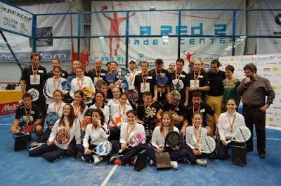 Campeonato de España de Pádel por equipos 2012