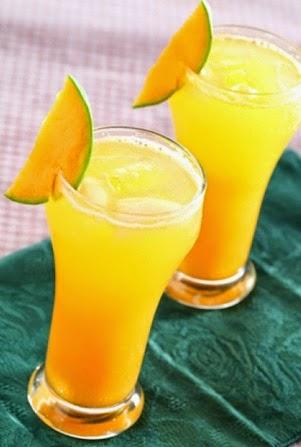 Minuman Punch Mangga Dan Jeruk
