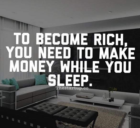 Apakah Anda Sudah Menghasilkan Uang Selagi Tidur?
