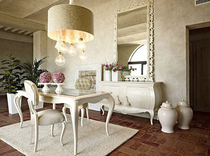 Comedores cl sicos italianos ideas para decorar dise ar for Comedores italianos modernos