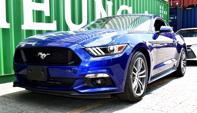 Ford Mustang GT V8 2015