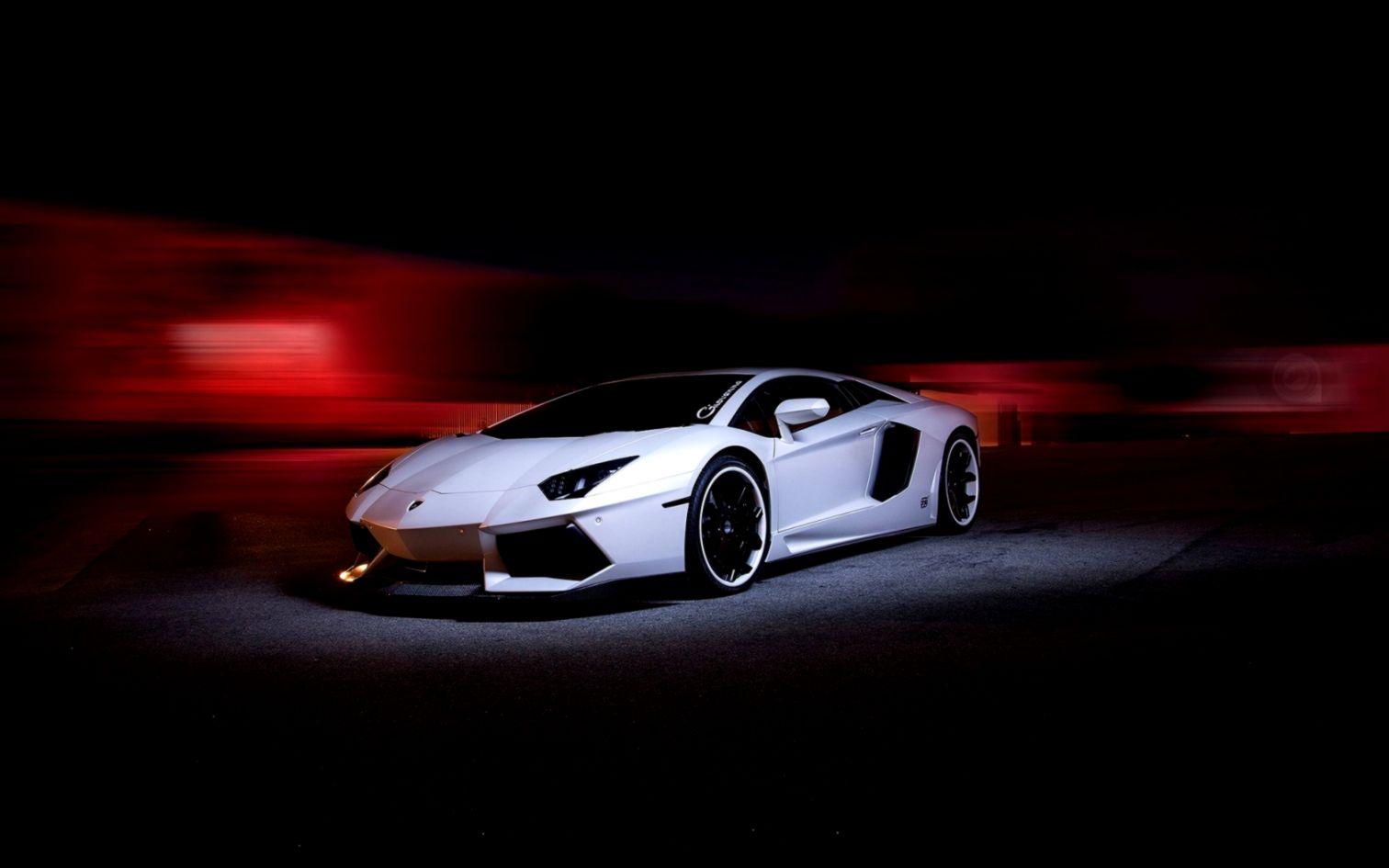Lamborghini Aventador Lp700 4 Night Hd Wallpaper  Best Desktop