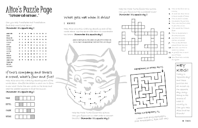Alice's Puzzle Page
