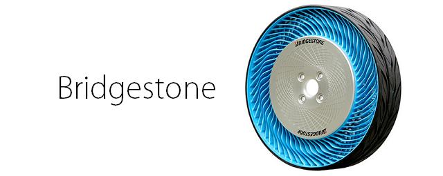 Bridgestone está pronto para começar a vender o futurista pneu sem ar