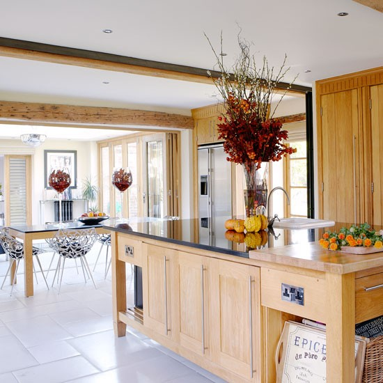 New home interior design step inside this glamorous surrey barn conversion for Barn conversion kitchen designs