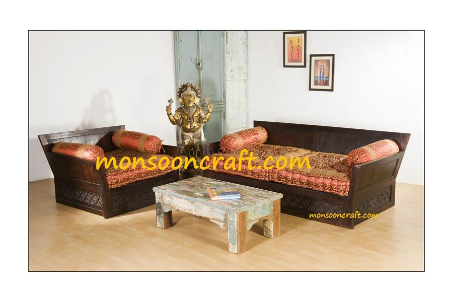 Sofa indian designs Sofa set india