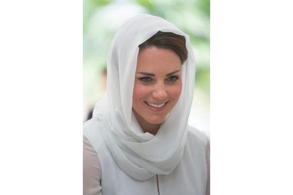 ميدلتون بالحجاب 2013 ميدلتون 2013