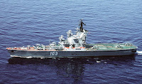 Moskva Class Helicopter Carrier