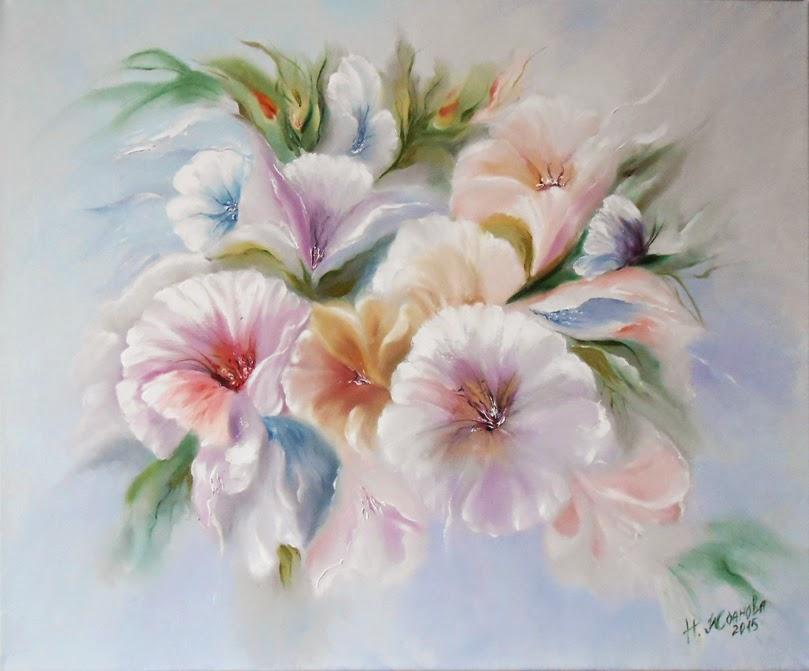 Купить Картину маслом недорого вы можете в галерее живописи петербургской художницы Натальи Ждановой http://artnataly.ru