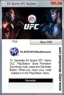 EA Sports UFC Keygen
