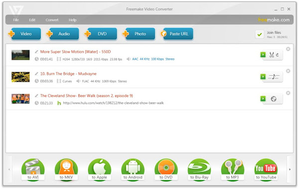 Free Download Freemake Video Converter (2013) Version 4.0.0.15 Via Direct Download Links Full Version Cracked