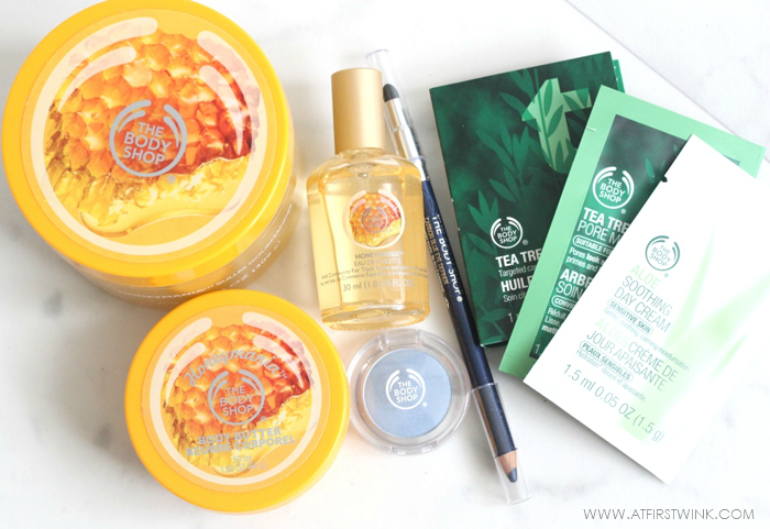 the Body Shop goodies